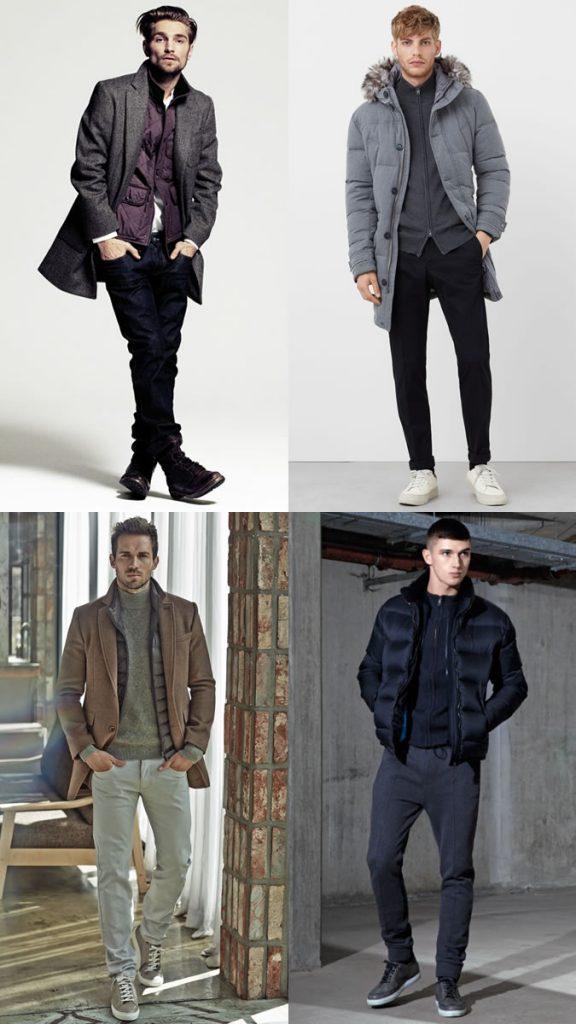 фото - стильный образ в моде зимой 2016-2017