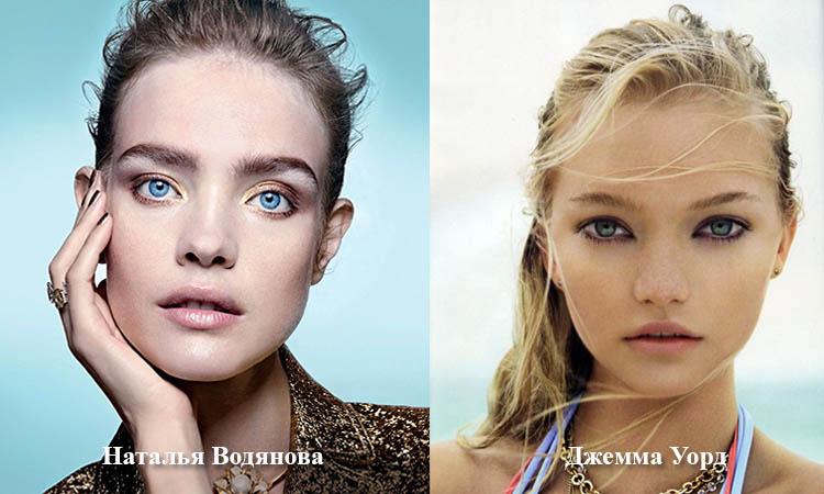Модели: Наталья Водянова и Джемма Уорд