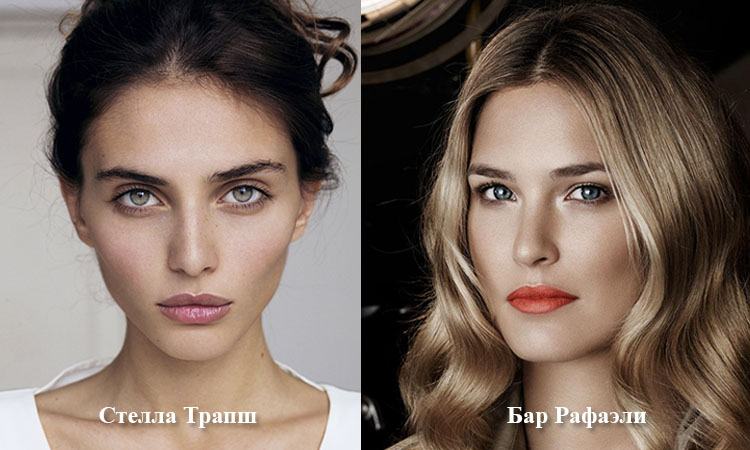 Модели: Стелла Трапш и Бар Рафаэли