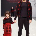 """фото с сайта Belarus Fashion week, показ в рамках BFW, Беллегпром, коллекция бренда Полесье """"Цеплыня"""""""