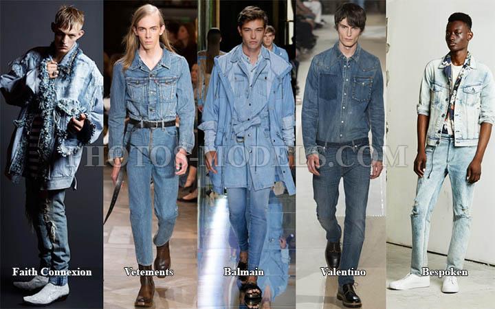 Модный мужской деним 2017