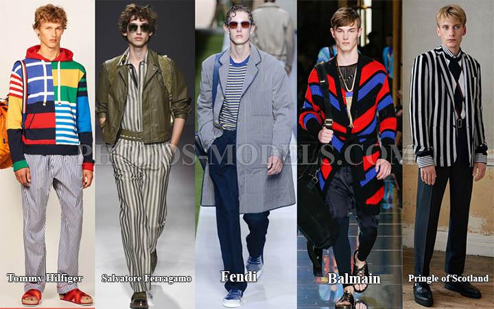 мужские вещи в полоску в моде весной-летом 2017