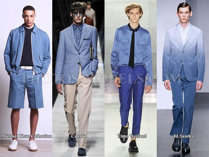 мужской модный цвет весенне-летнего сезона 2017