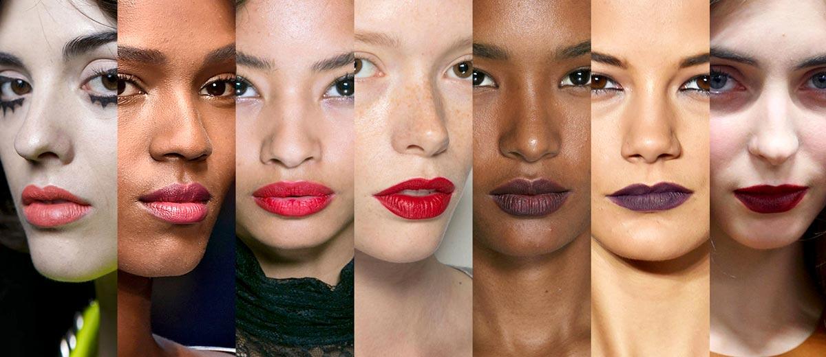Модный макияж губ 2017