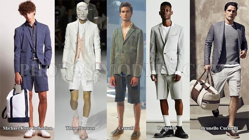 мужские шорты с отворотами 2017