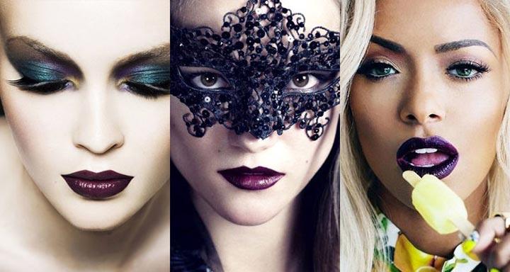 фото: модный макияж губ 2017 фото тенденции