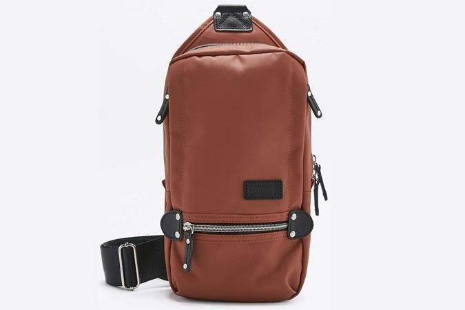 Многофункциональная мужская сумка из кожи 2017