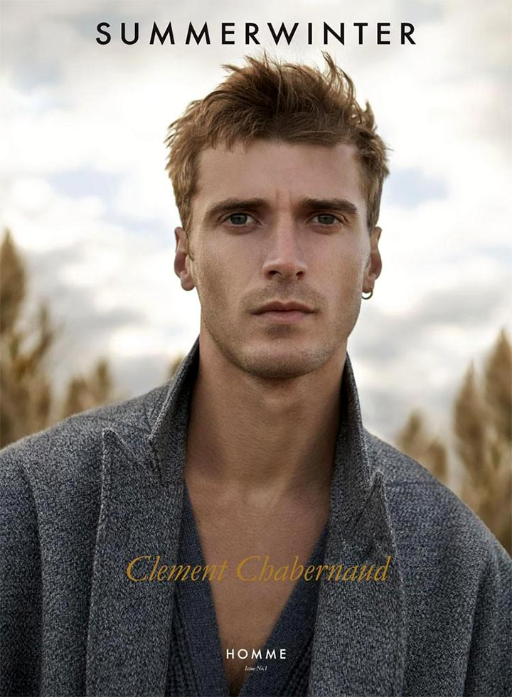 Клемент Шаберно мужчина модель 2016