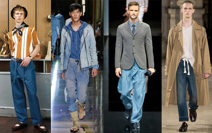 Габаритные джинсы 2017