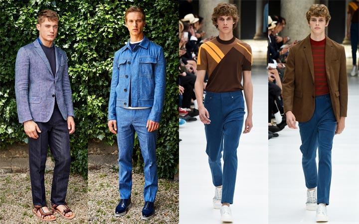 Джинсовые брюки мужские 2017