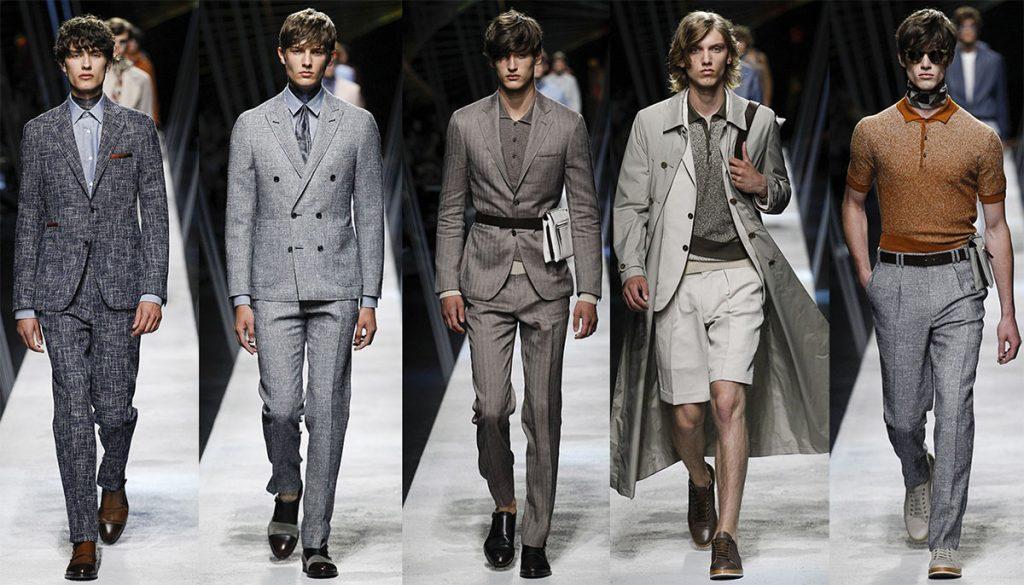 Canali мужской показ мод весна-лето 2017