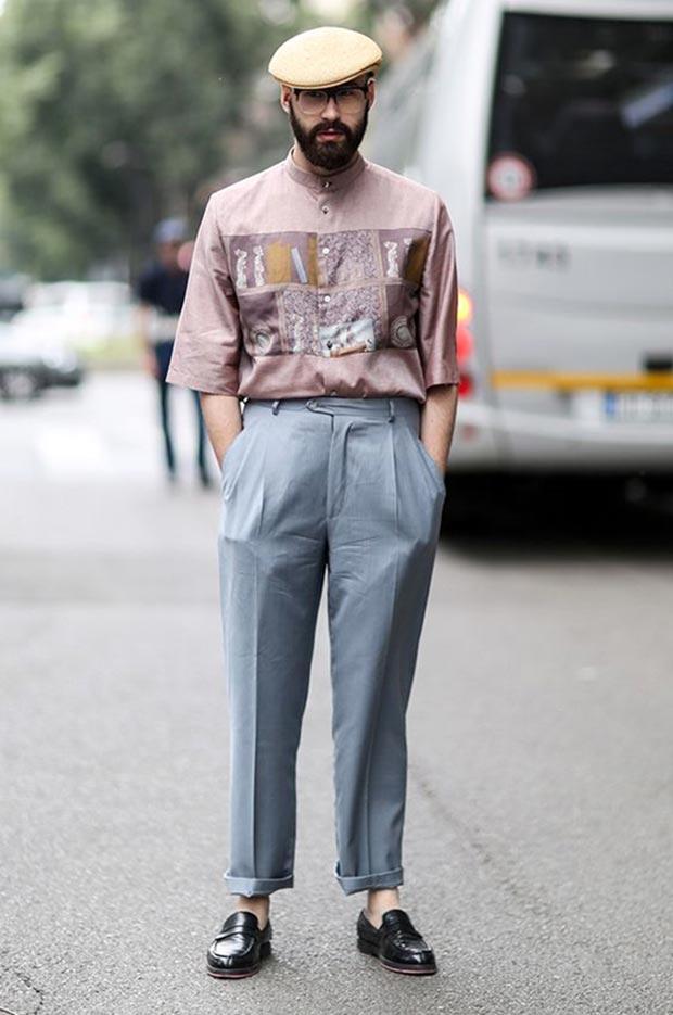 Мужская мода Италия 2017  тенденции итальянской уличной моды bd2fe0ba44a