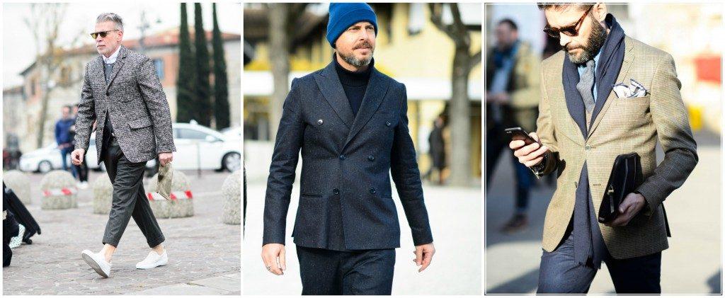 Мужские блейзеры в итальянской моде 2017