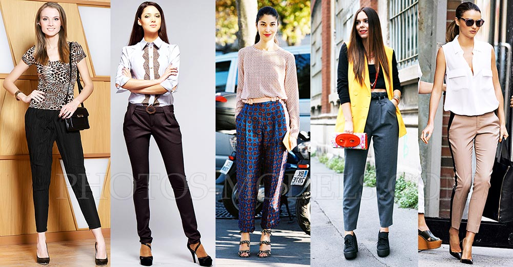 e6d68c0ee63c Модные женские брюки на весну и лето 2017-2018 фото тенденции