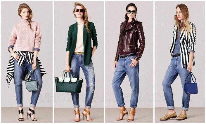 Как правильно носить джинсы бойфренды весной