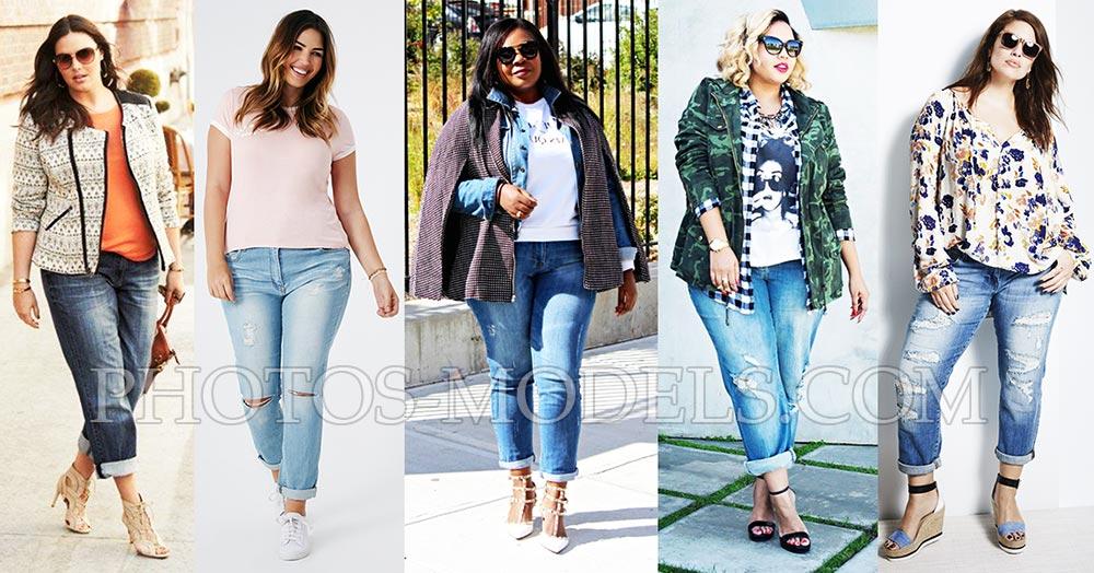 Модные луки с джинсами бойфренда