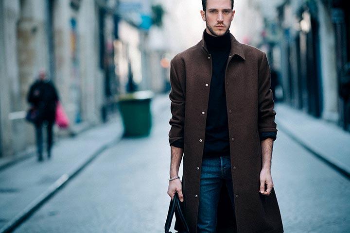 Как правильно носить пальто