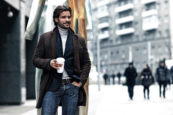 Как правильно выбрать длину мужского пальто фото