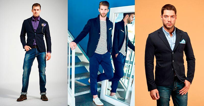 Выбираем правильный пиджак под джинсы фото