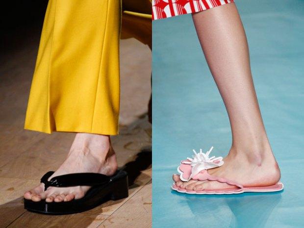 Модные шлепанцы женские 2017 фото тенденции
