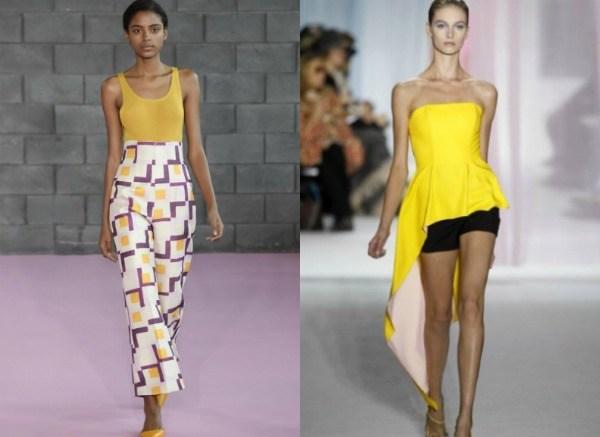 Сочные цвета в моде 2017 фото тенденции
