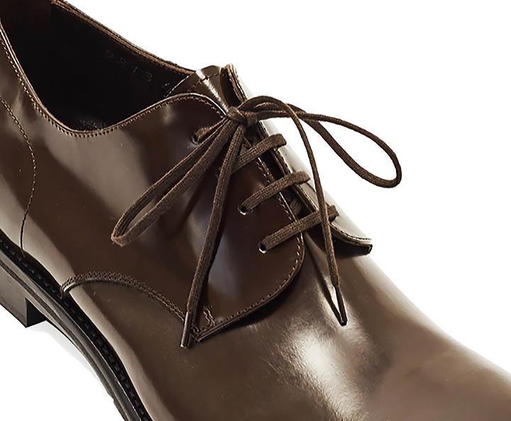 Дерби - туфли с открытой шнуровкой