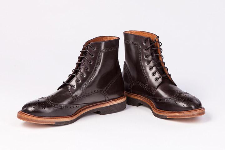 Мужские Броги-ботинки