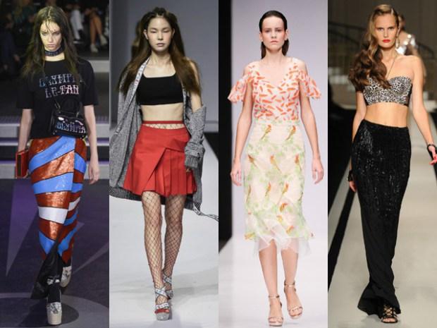 Модные юбки весна-лето 2017 фото тенденции