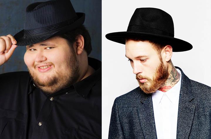 Ужасные мужские шляпы фото