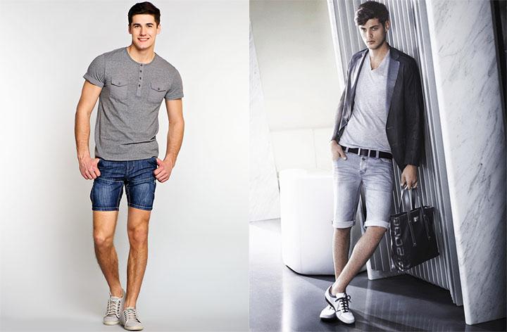 Короткие мужские шорты смотрятся некрасиво и вульгарно