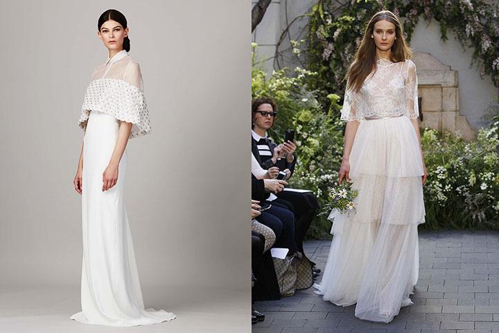 Платья для невесты мода 2017 фото новинки