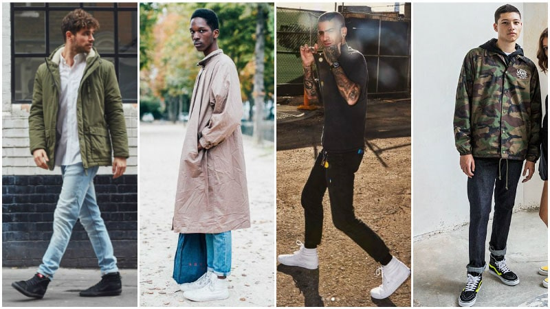 как носить мужские вансы фото