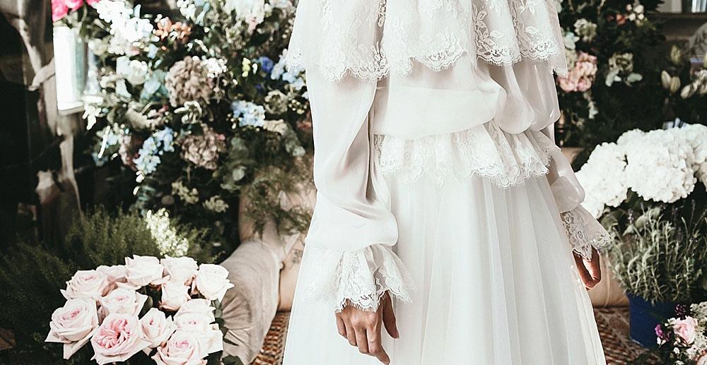 Стильные свадебные платья в моде весна-лето 2017 фото тенденции