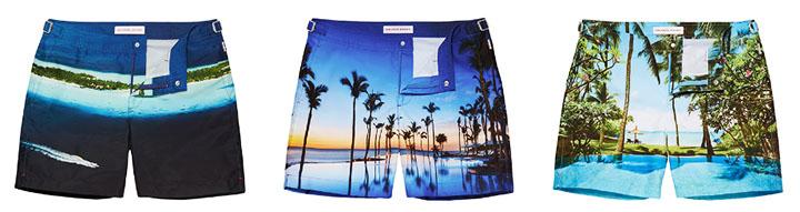 Мужские шорты для плавания Orlebar Brown 2017