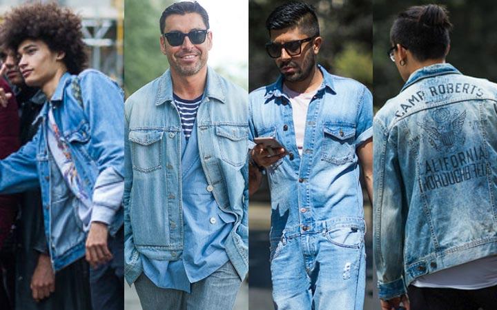 Джинсы в мужской уличной моде лето 2017 фото новинки