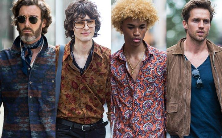 Летняя уличная мода лето 2017: мода 70-х