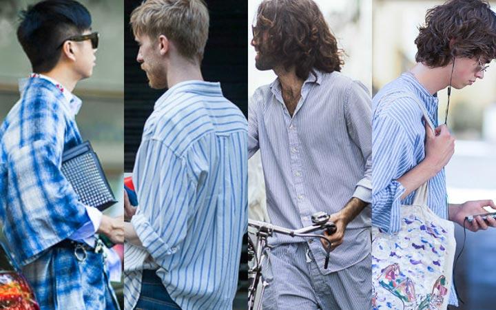 Пижамные мотивы в уличной моде 2017