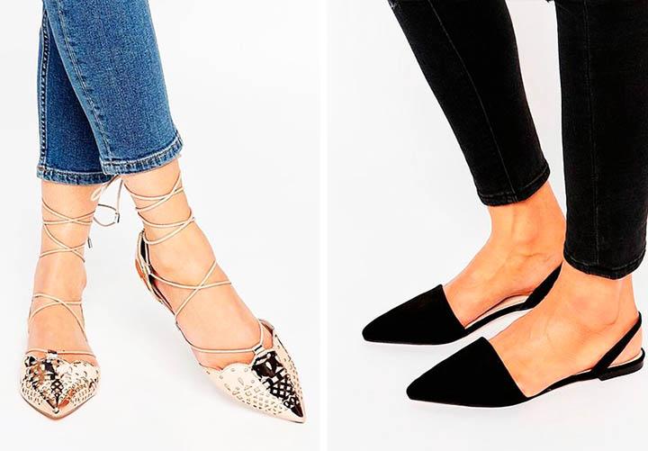 Модная остроносая обувь лето 2017 фото тенденции