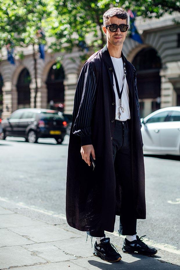 863d30362b8 Еще модные мужские образы с недели уличной моды весна-лето 2018 в Лондоне