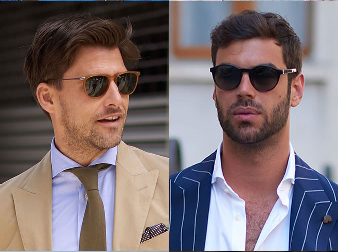 Модные мужские луки весна-лето 2018: мужчины в очках