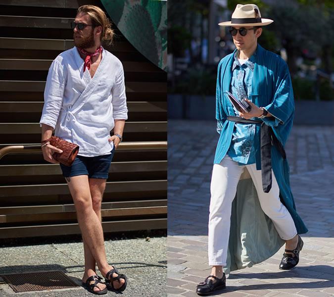 Модные мужские образы уличная мода весна-лето 2018