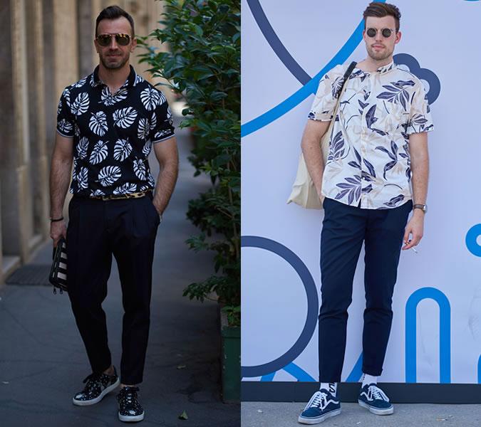 Рубашки с принтом в тренде весна-лето 2018