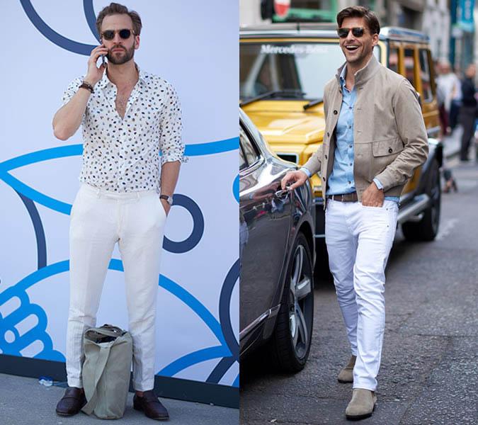 Белый цвет в моде весна-лето 2018