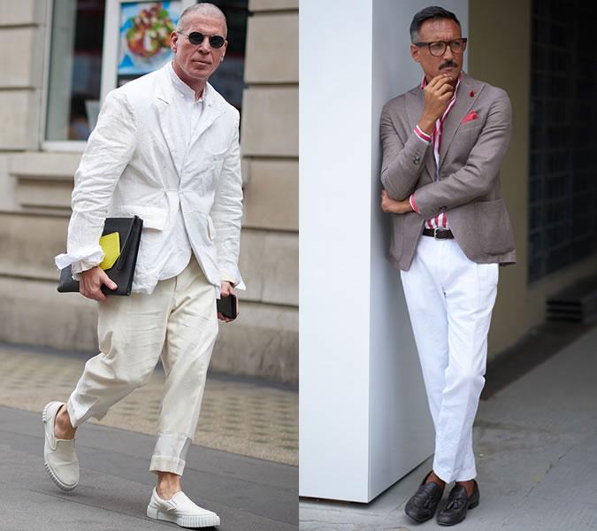Примеры модных мужских образов лето 2018