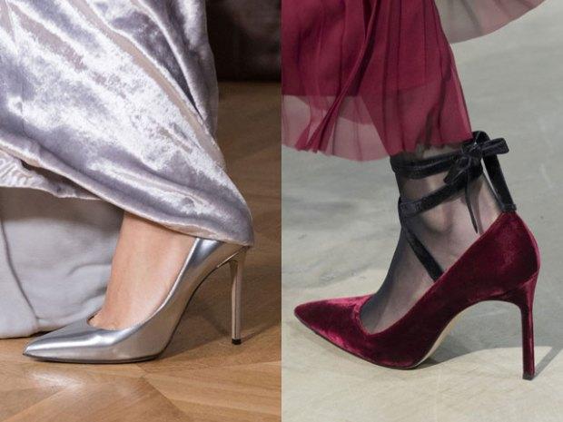 Вечерняя обувь в моде осень-зима 2017-2018