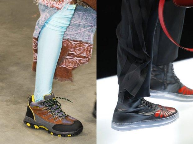 Модная осенне-зимняя обувь 2017 2018 в спортивном стиле