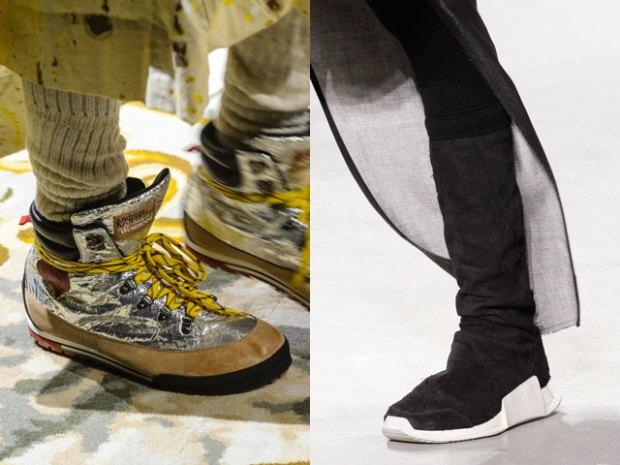 Модные женские кроссовки на осень-зиму 2017 фото новинки