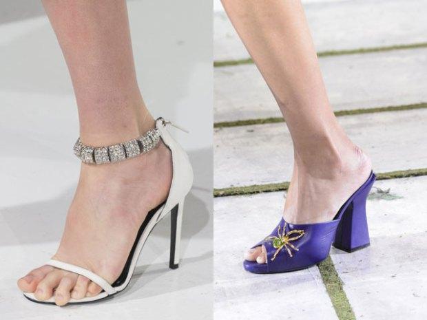 Модная обувь со стразами 2017-2018 фото