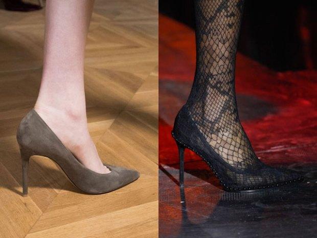Модная обувь для женщин 2017-2018: стилетто
