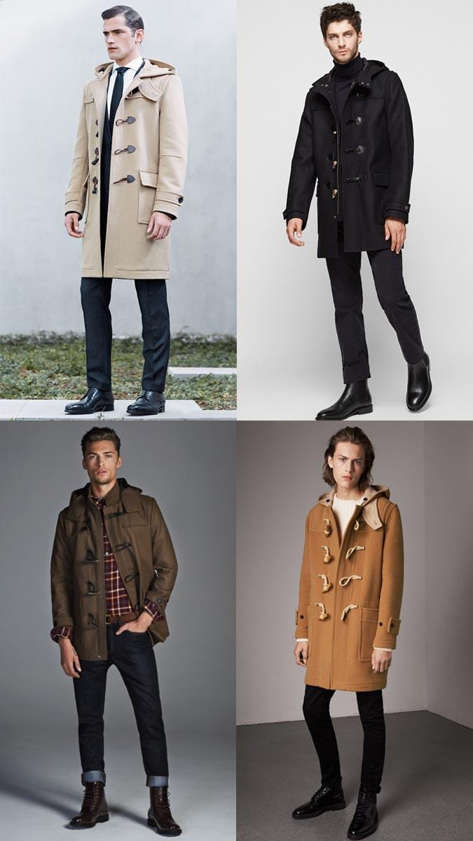 зимнее пальто с капюшоном 2018-2019 года модные тенденции мужские